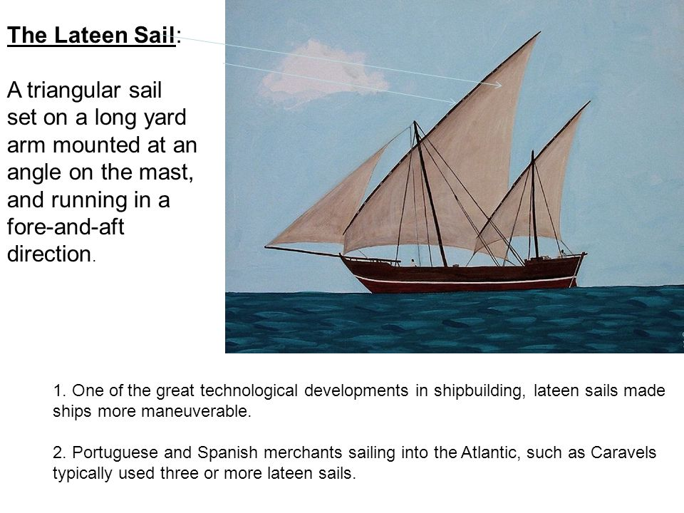 The Lateen Sail: A triangular sail