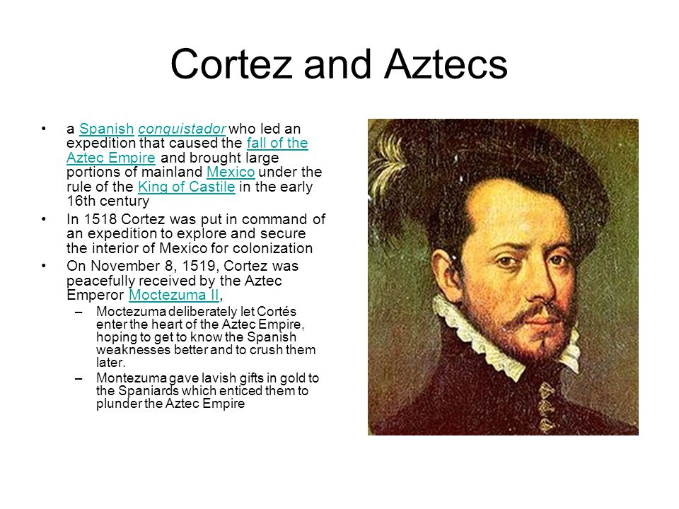 Cortez and Aztecs