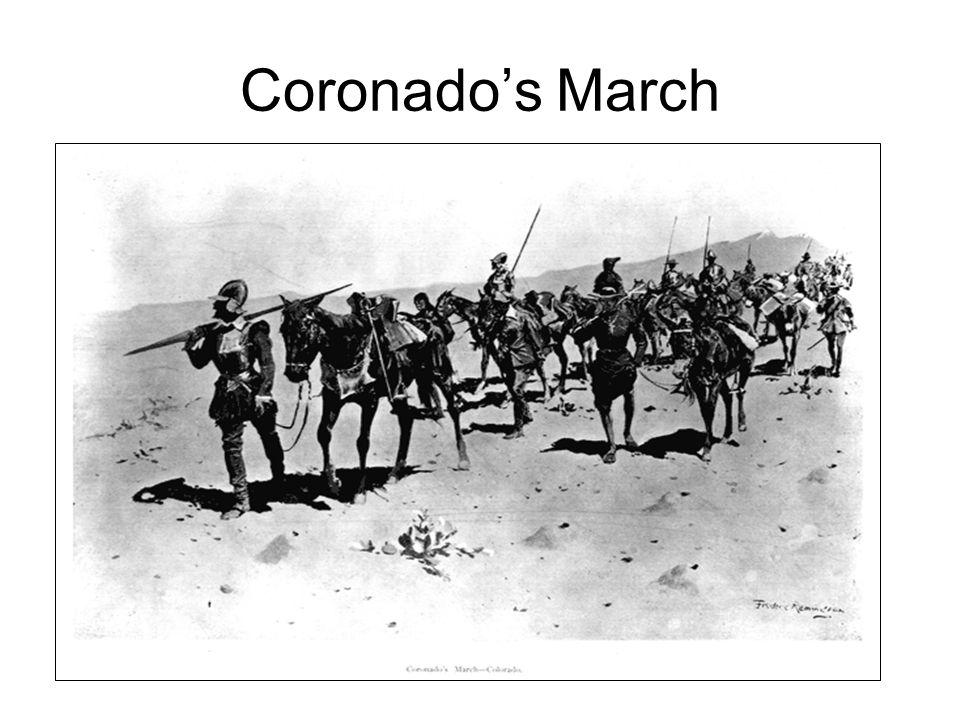Coronado's March