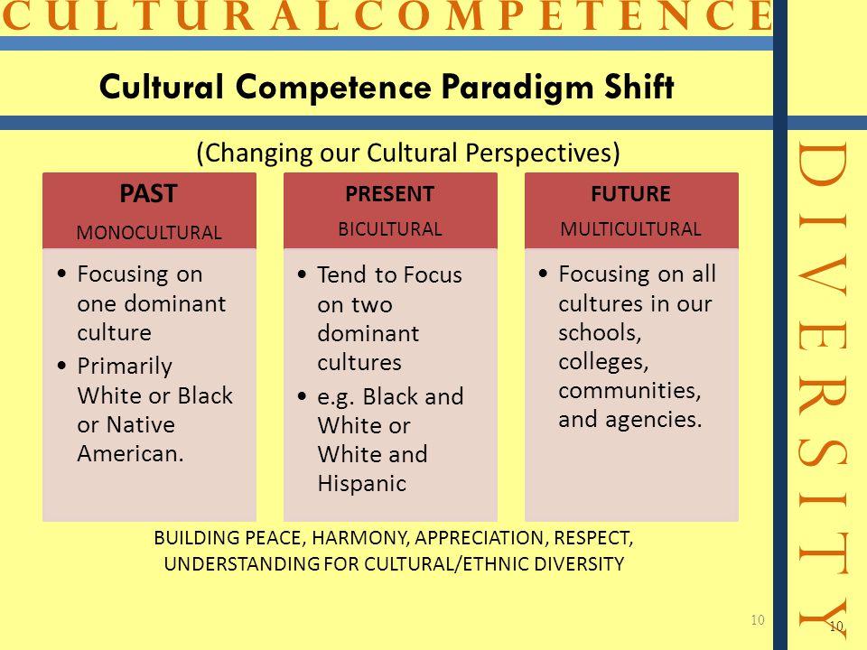 Cultural Competence Paradigm Shift