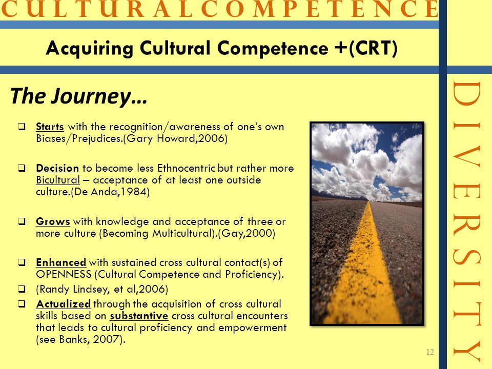 Acquiring Cultural Competence +(CRT)