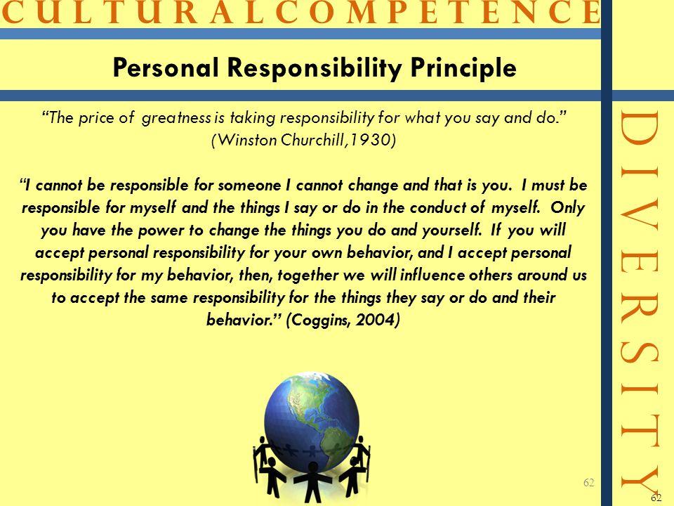 Personal Responsibility Principle
