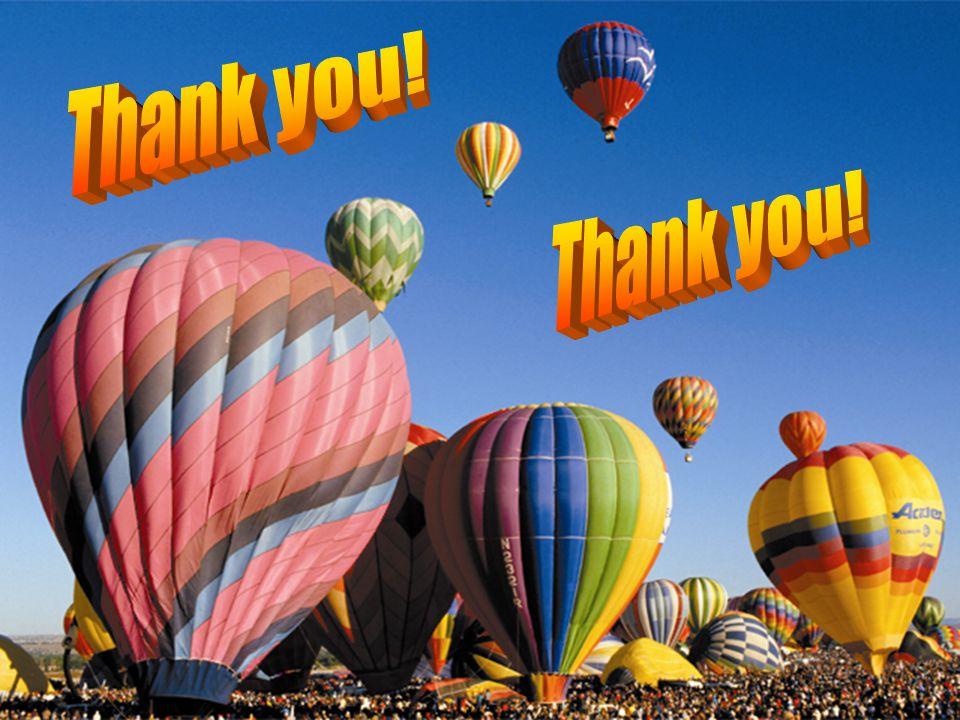 Thank you! Thank you! 63