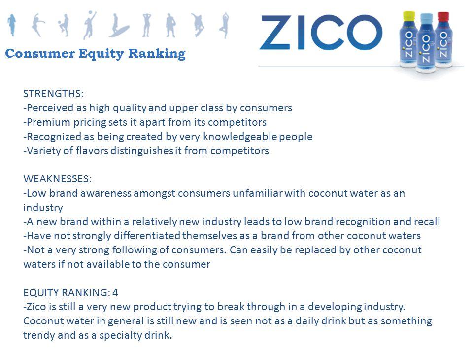 Consumer Equity Ranking