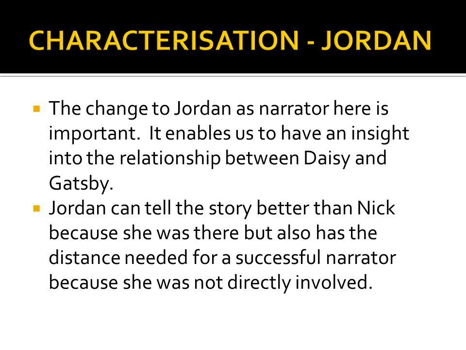 CHARACTERISATION - JORDAN