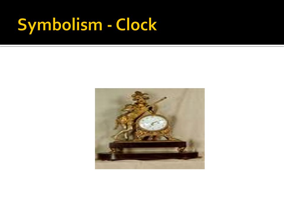 Symbolism - Clock