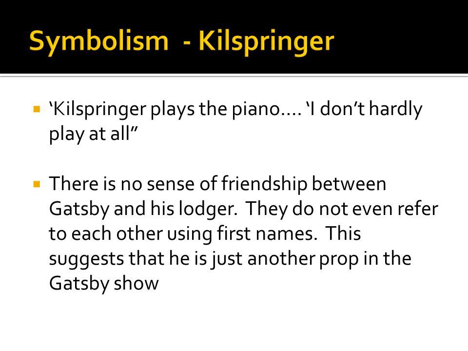 Symbolism - Kilspringer