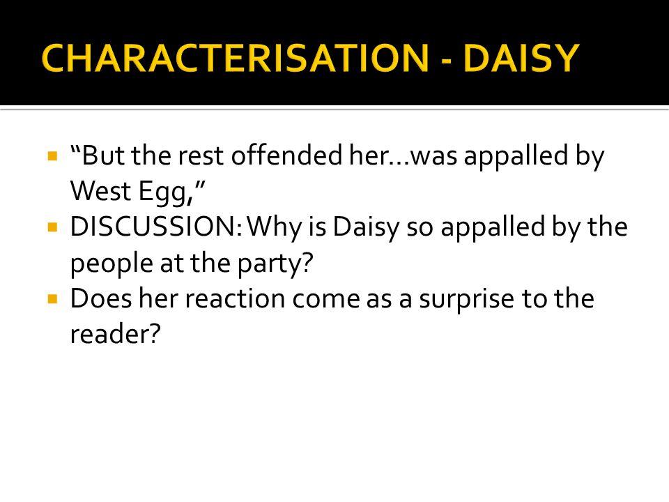 CHARACTERISATION - DAISY
