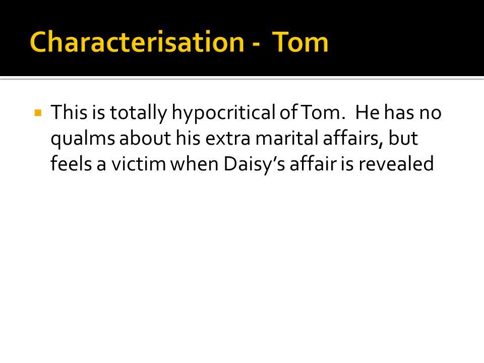 Characterisation - Tom