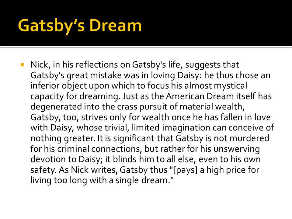 Gatsby's Dream