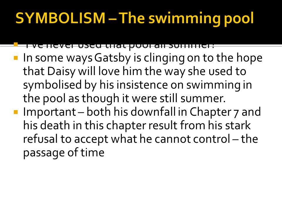 SYMBOLISM – The swimming pool