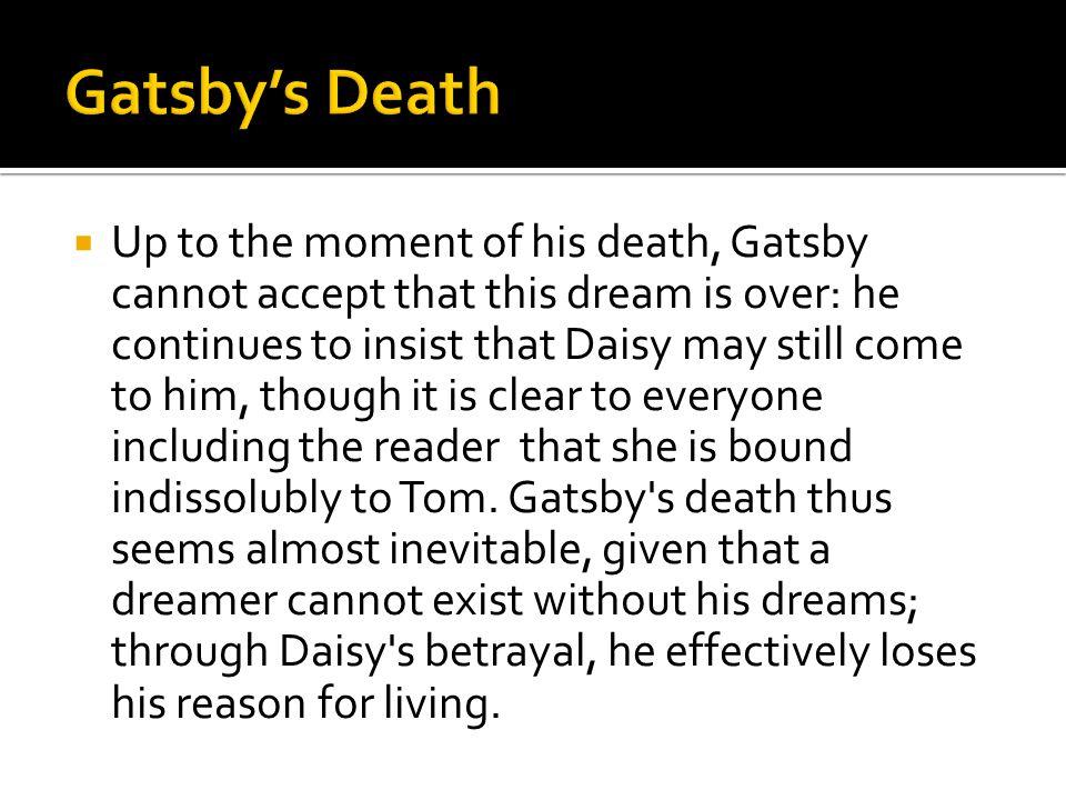 Gatsby's Death