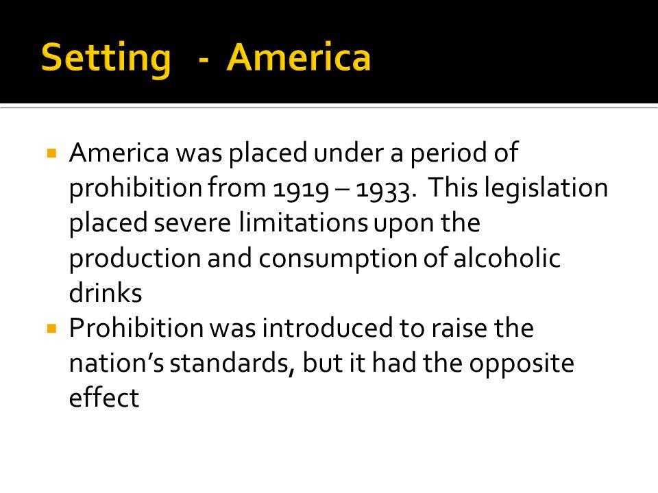 Setting - America