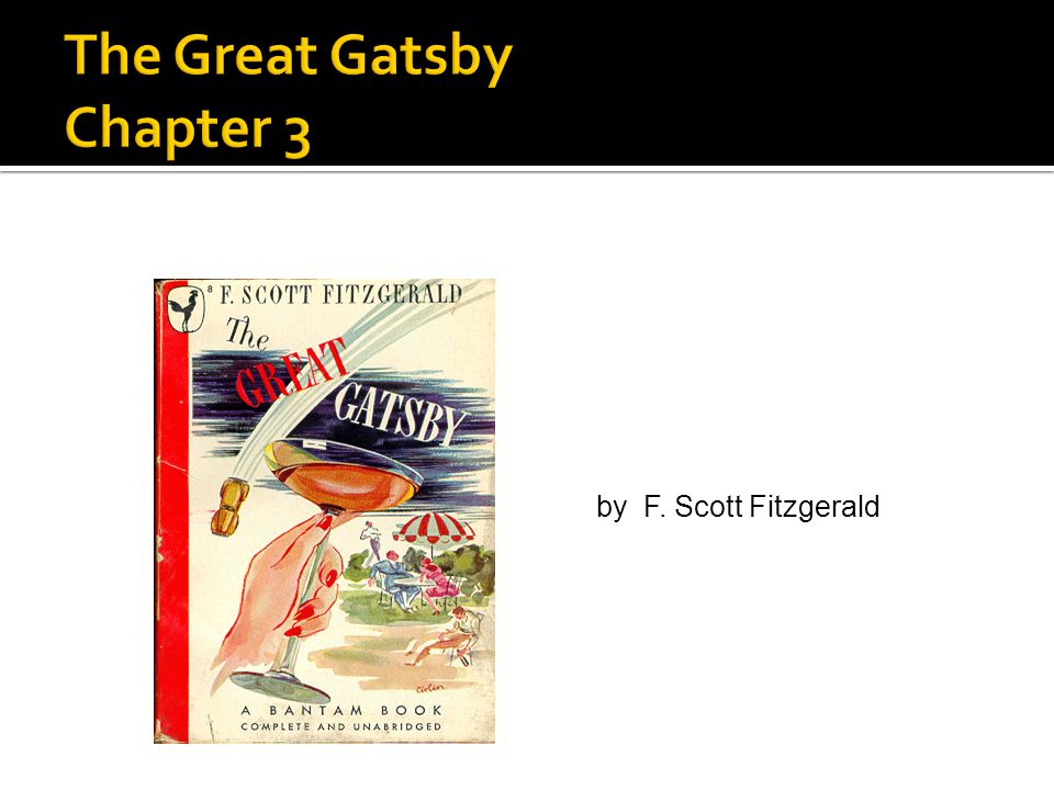 The Great Gatsby Chapter 3