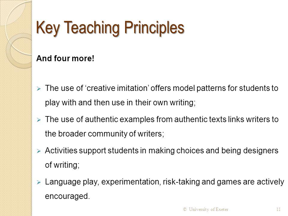 Key Teaching Principles