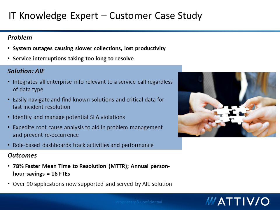 IT Knowledge Expert – Customer Case Study