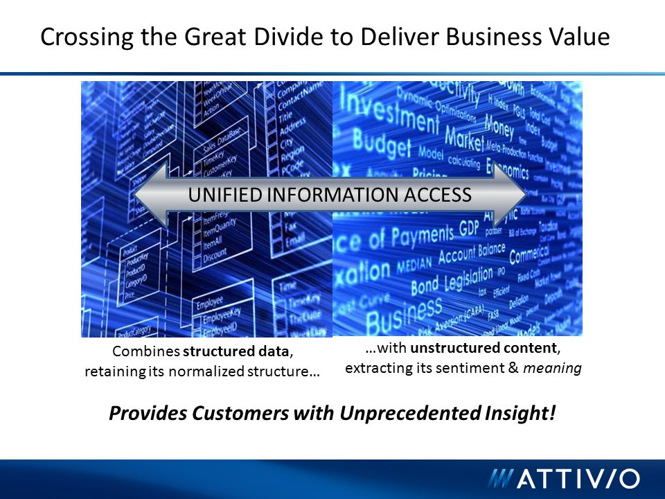 Crossing the Great Divide to Deliver Business Value