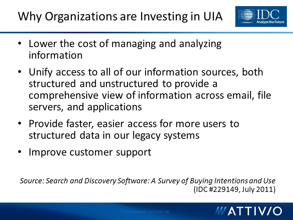 Why Organizations are Investing in UIA
