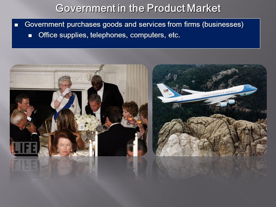 Government in the Product Market