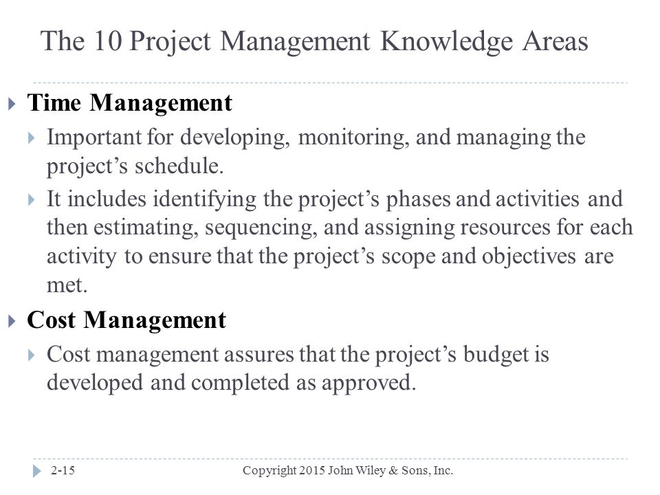 Information Technology Project Management – Fifth Edition ...