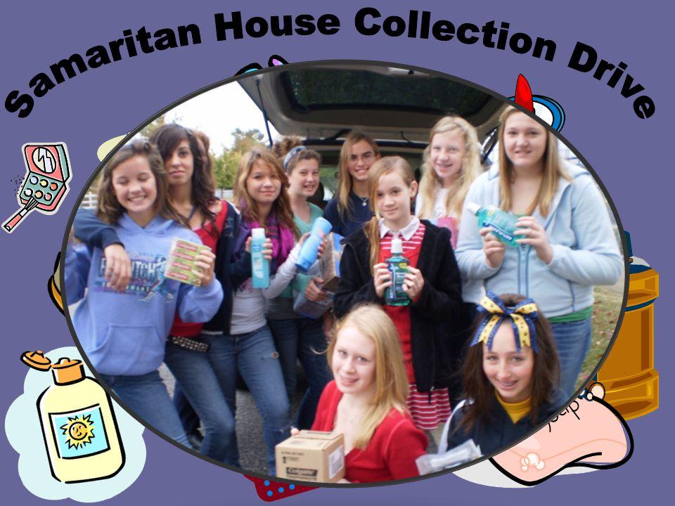 Samaritan House Collection Drive