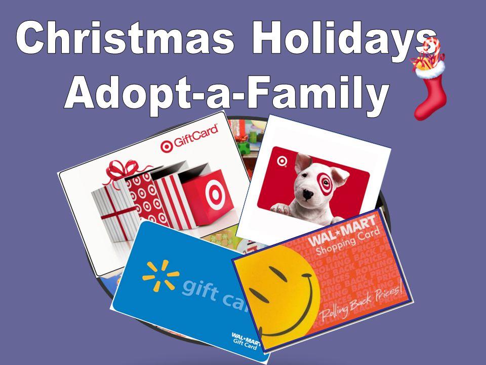 Christmas Holidays Adopt-a-Family