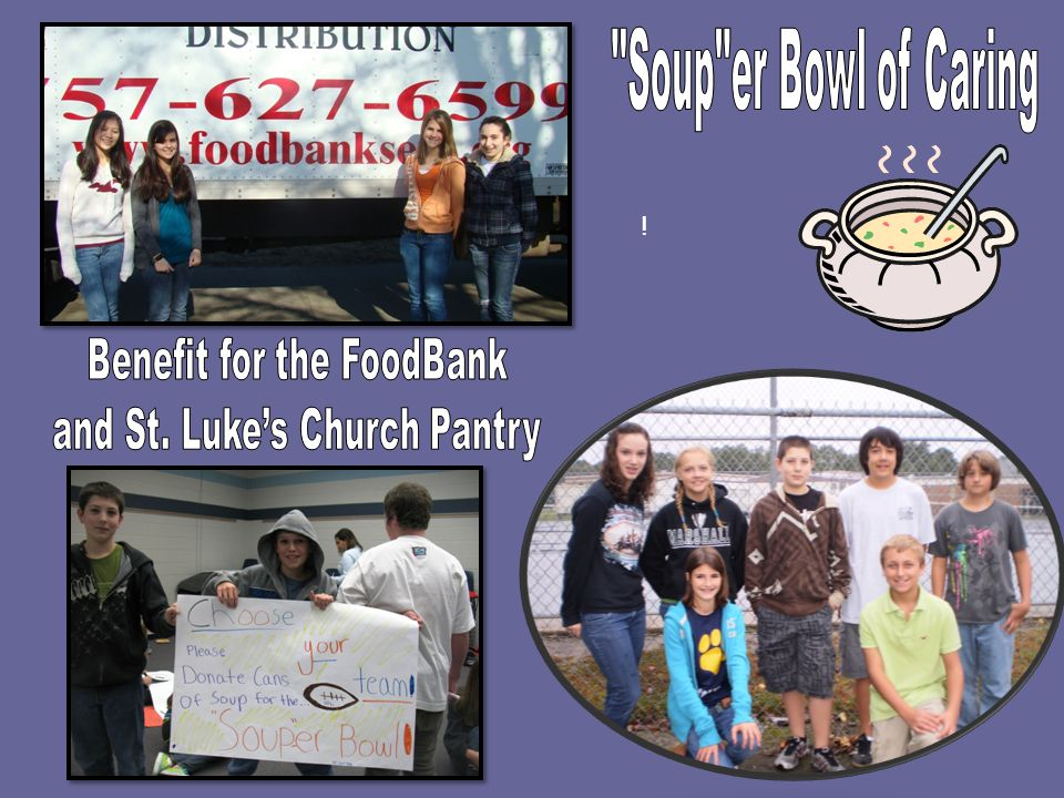 Benefit for the FoodBank and St. Luke's Church Pantry