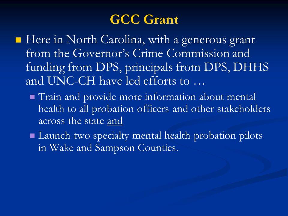GCC Grant