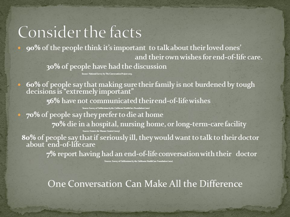 One Conversation Can Make All the Difference