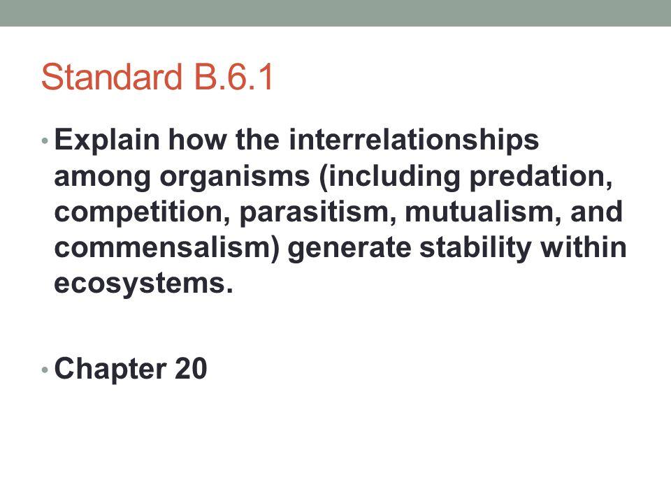 Standard B.6.1