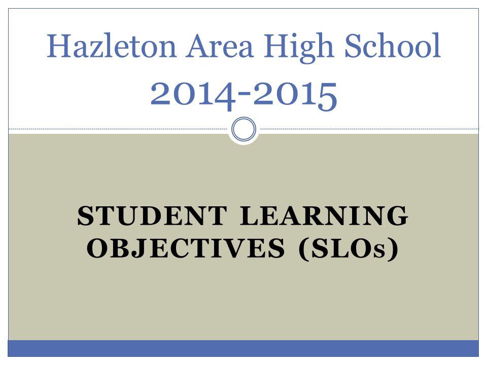 Hazleton Area High School 2014-2015