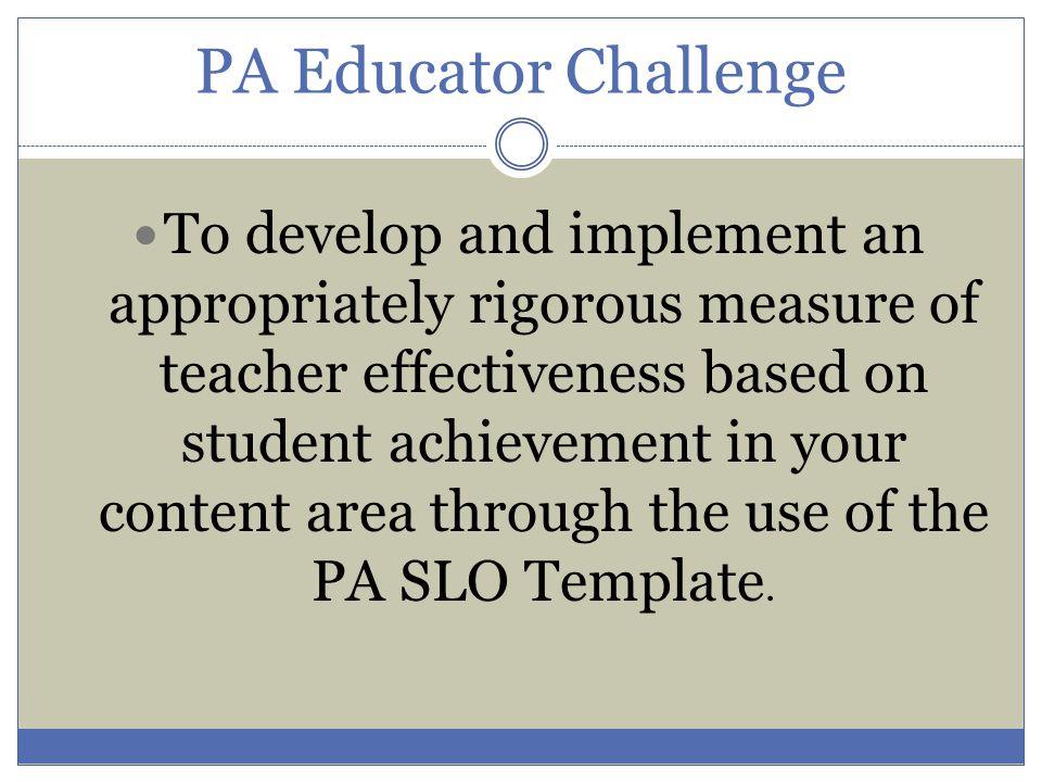 PA Educator Challenge