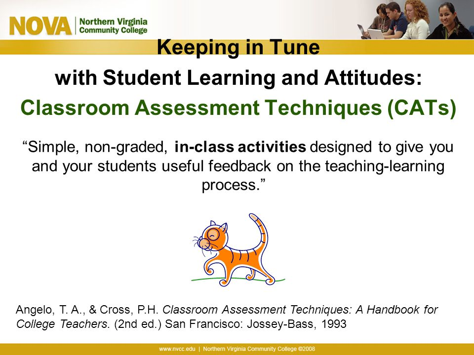 with Student Learning and Attitudes: