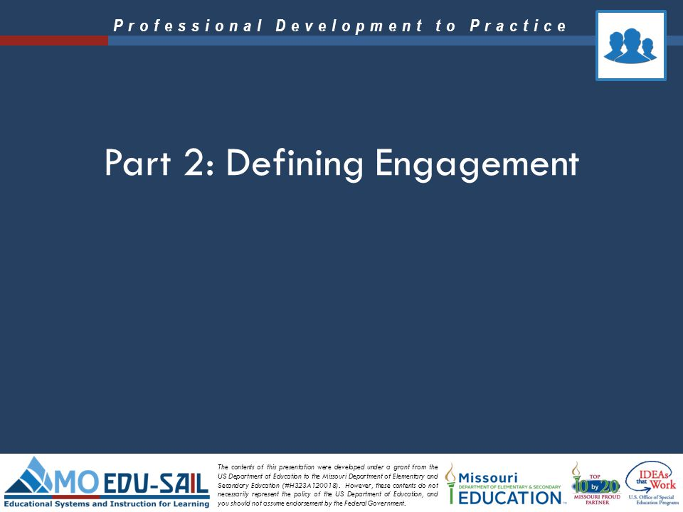 Part 2: Defining Engagement