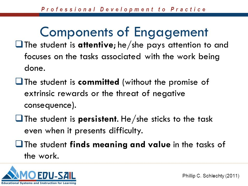 Components of Engagement
