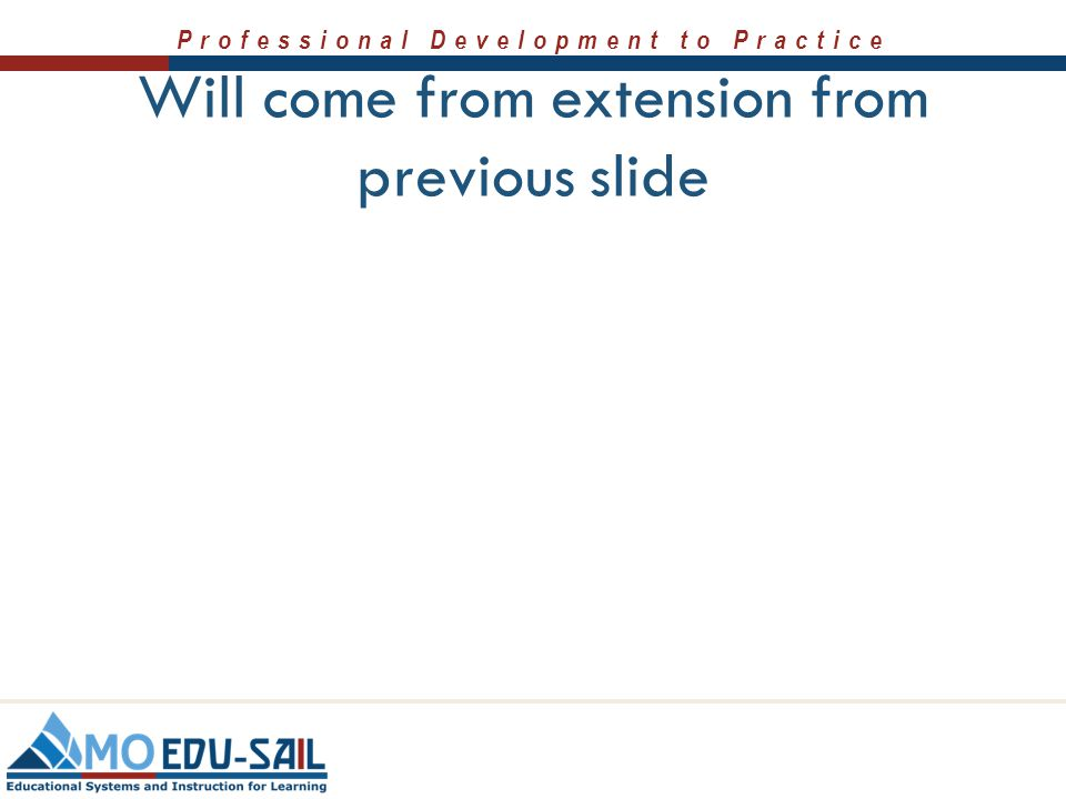 Will come from extension from previous slide