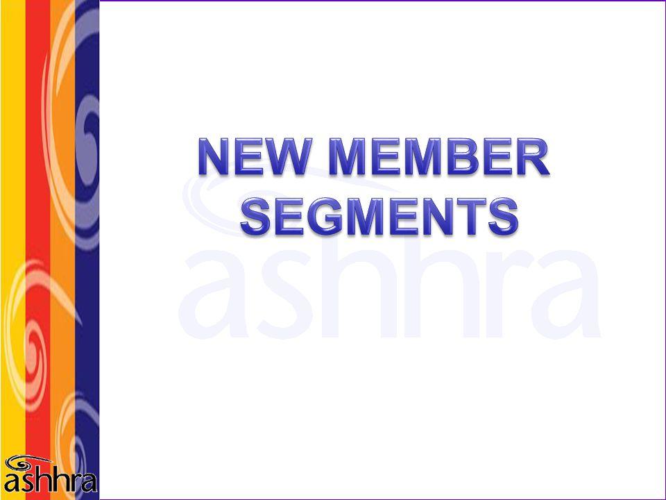 NEW MEMBER SEGMENTS