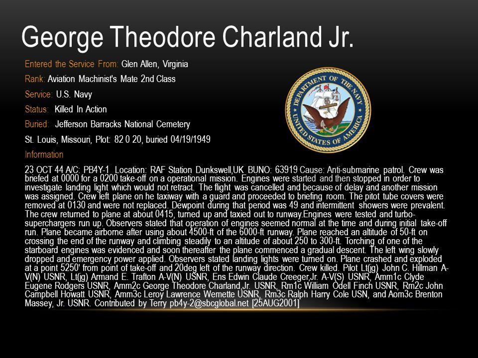 George Theodore Charland Jr.