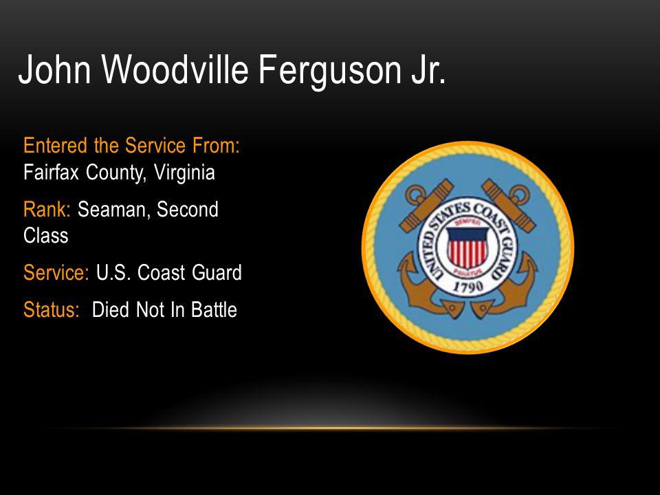 John Woodville Ferguson Jr.