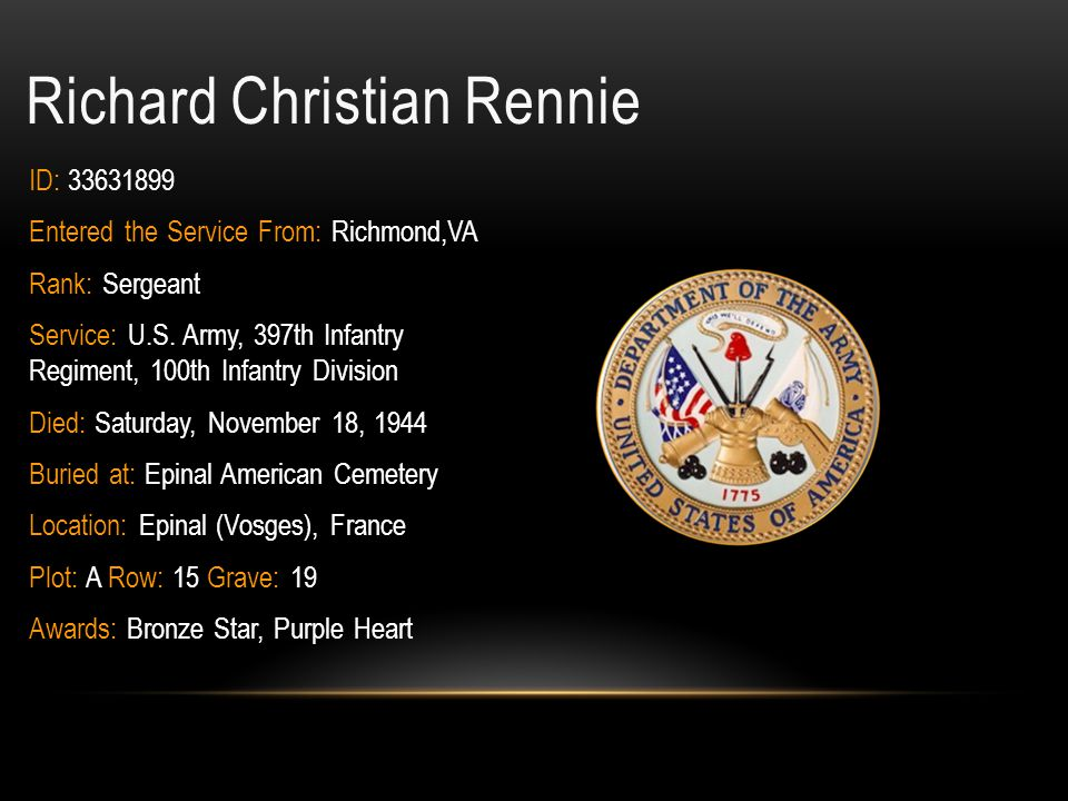 Richard Christian Rennie