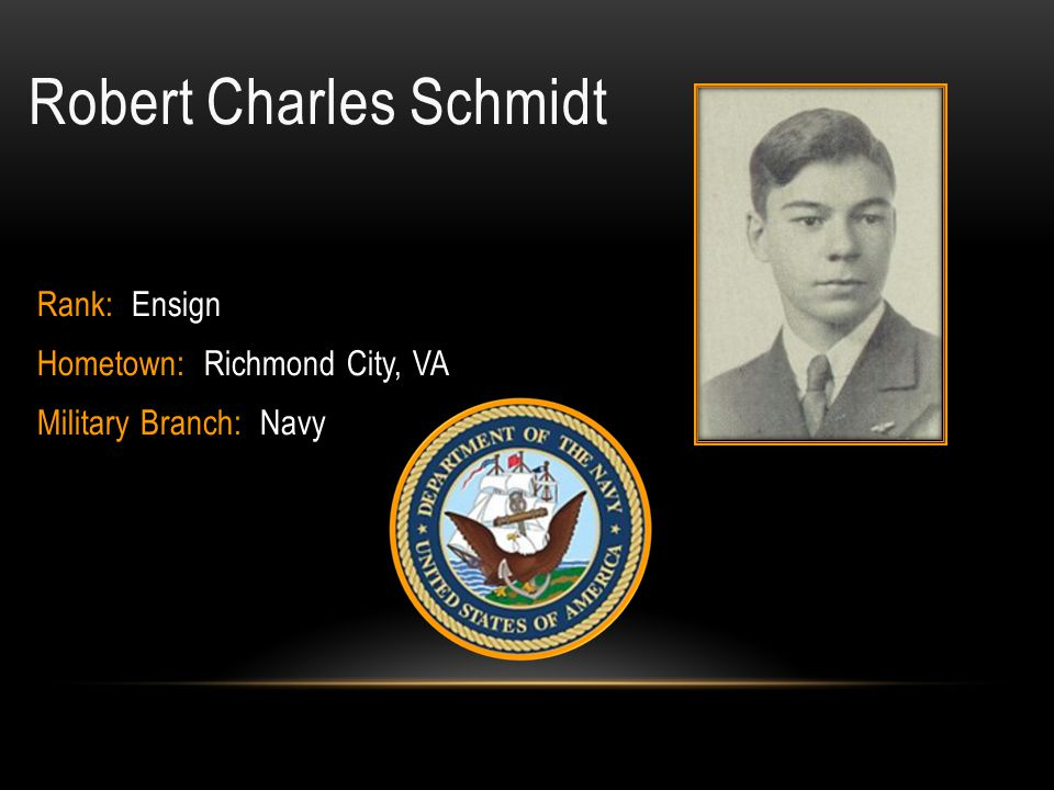 Robert Charles Schmidt
