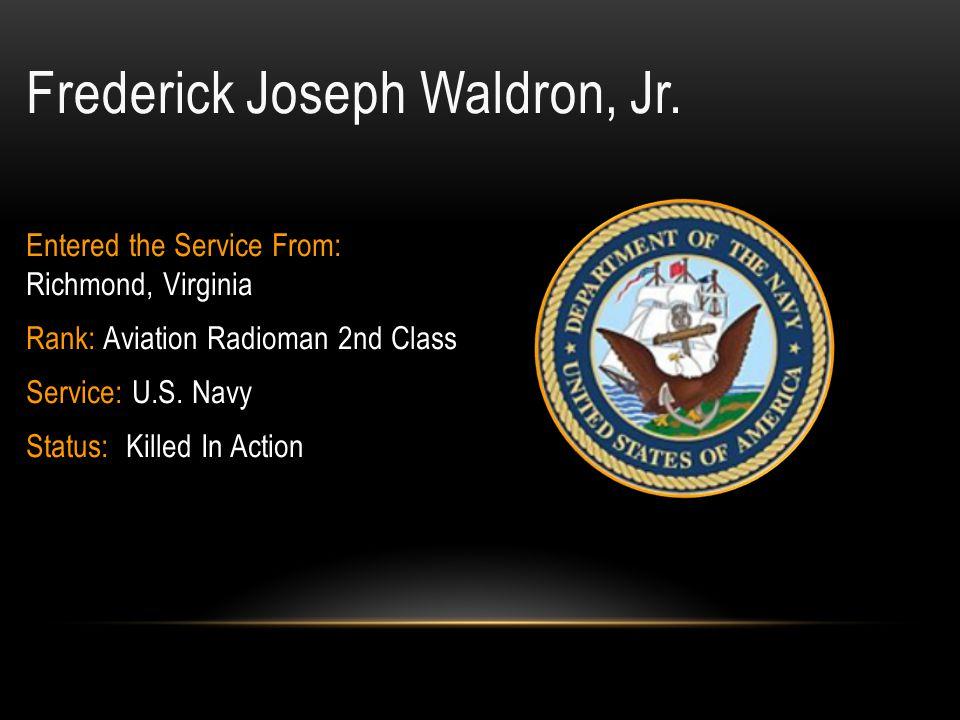 Frederick Joseph Waldron, Jr.