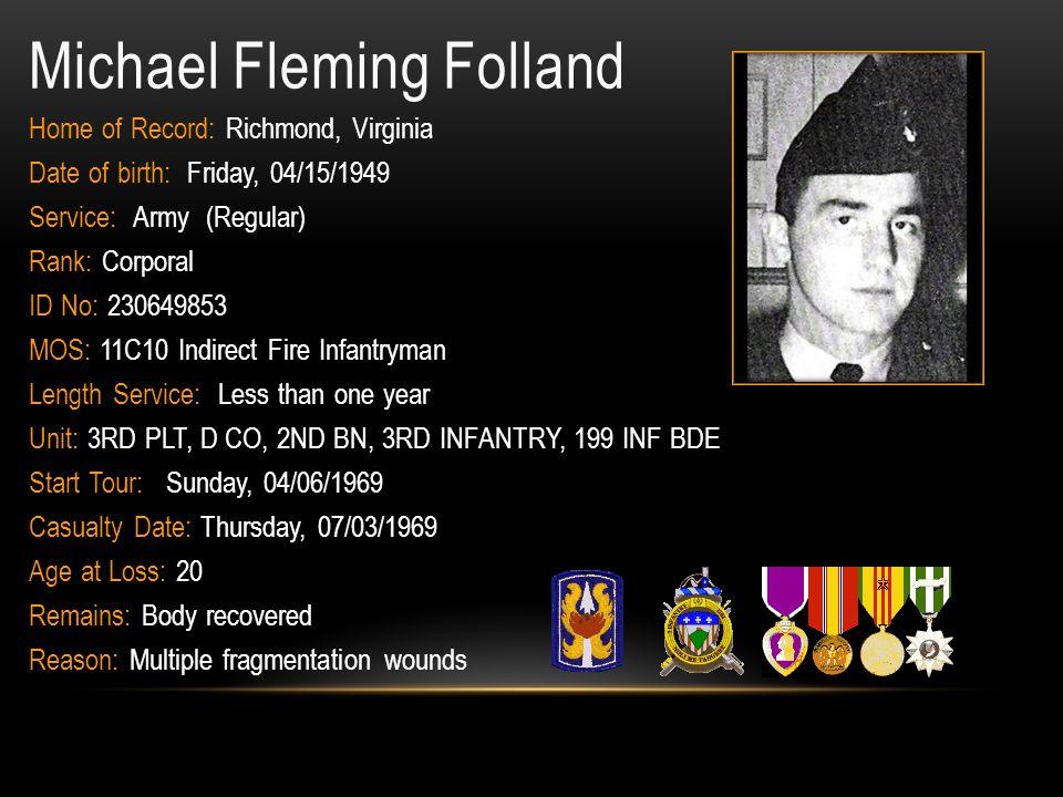 Michael Fleming Folland