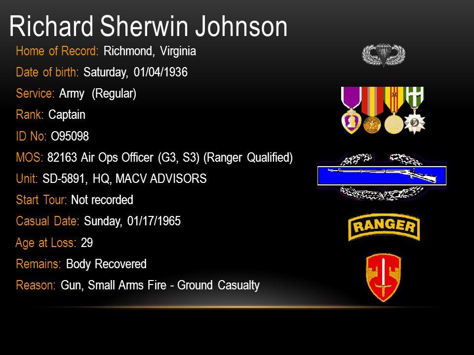 Richard Sherwin Johnson