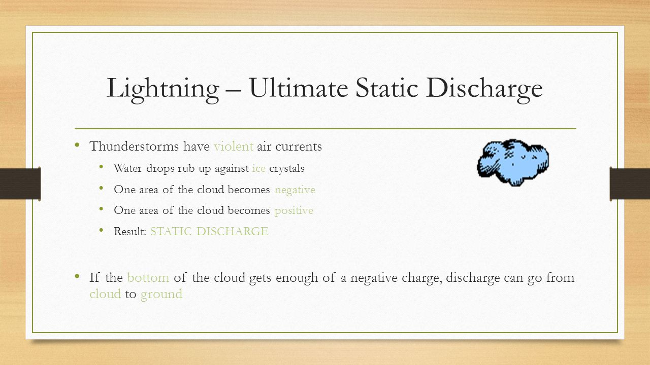 Lightning – Ultimate Static Discharge