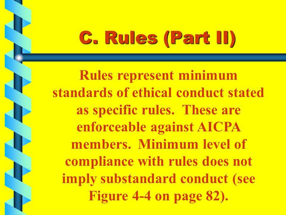 C. Rules (Part II)