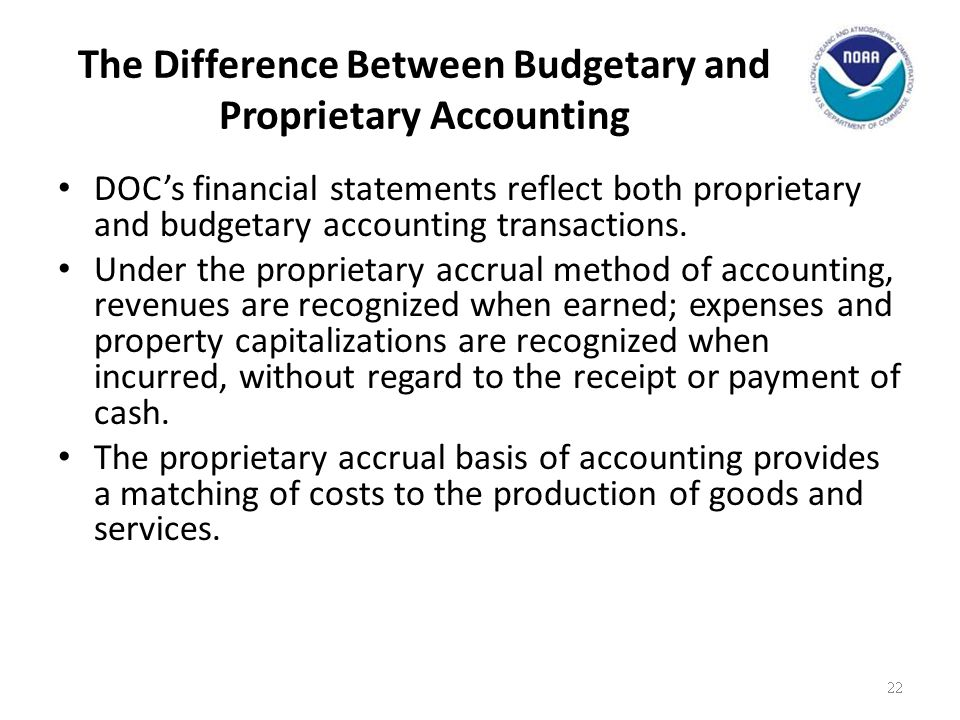 The Difference Between Budgetary and Proprietary Accounting