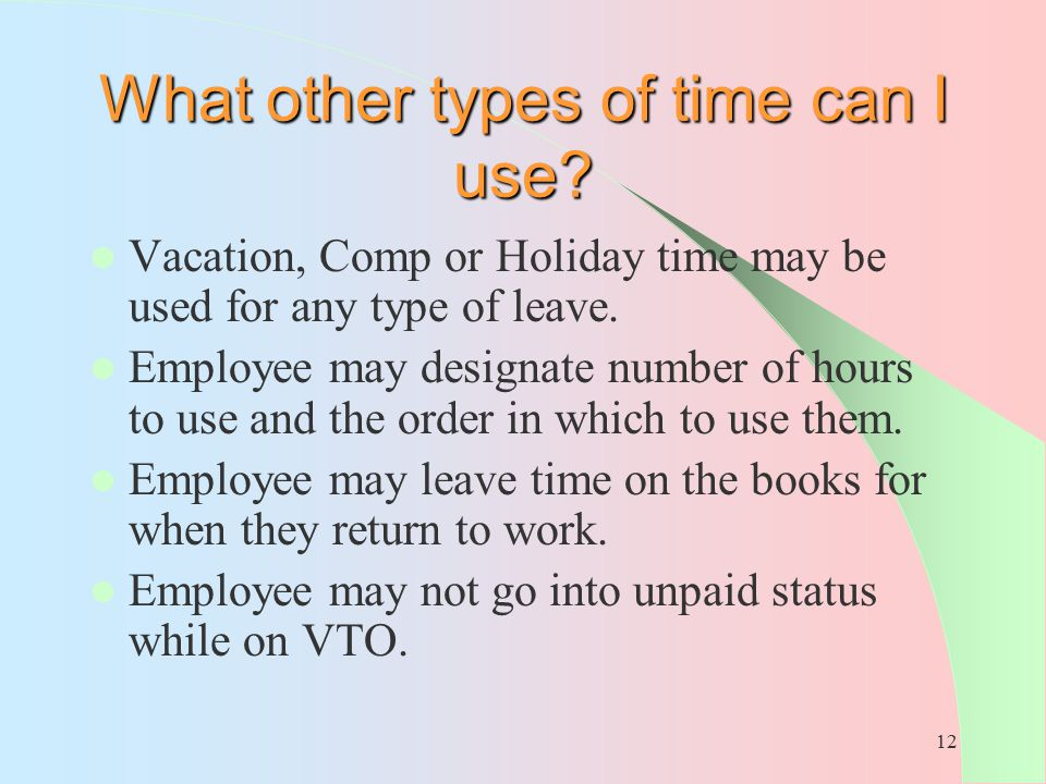 What other types of time can I use