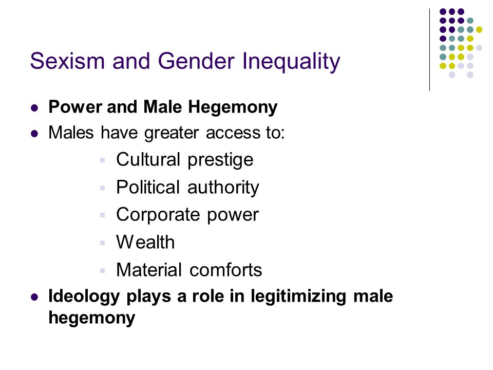 Sexism and Gender Inequality