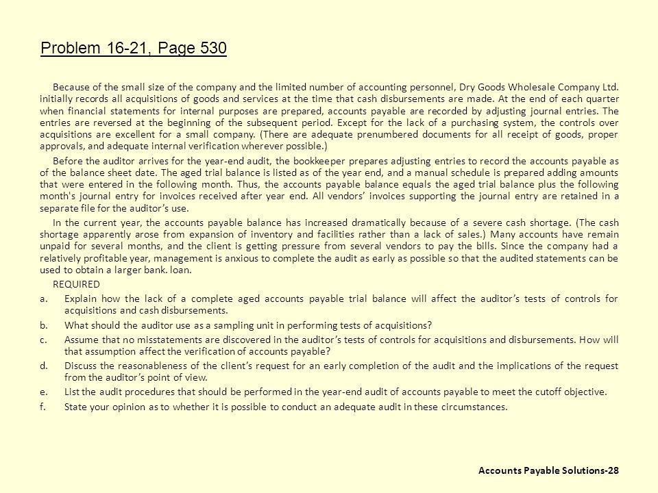 Problem 16-21, Page 530